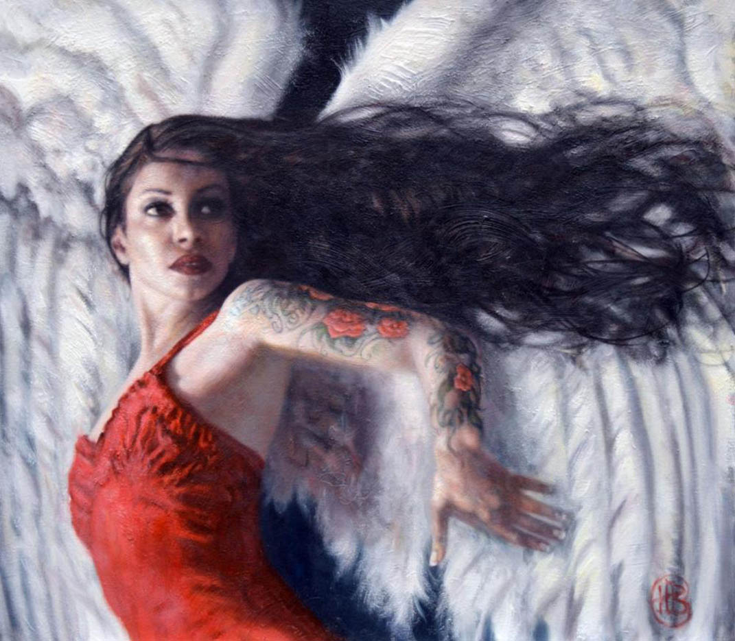 "Хэмиш Блэкли (Hamish Blakely) ""Angel In A Red Dress"""