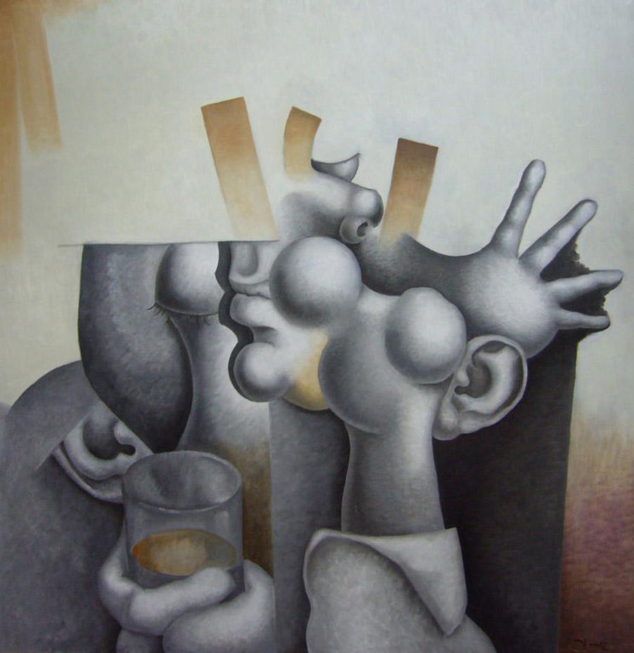Карлос Бланко Артеро (Carlos Blanco Artero), Hombre bebiendo
