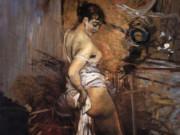 "Джованни Больдини (Giovanni Boldini), ""La Toilette"""