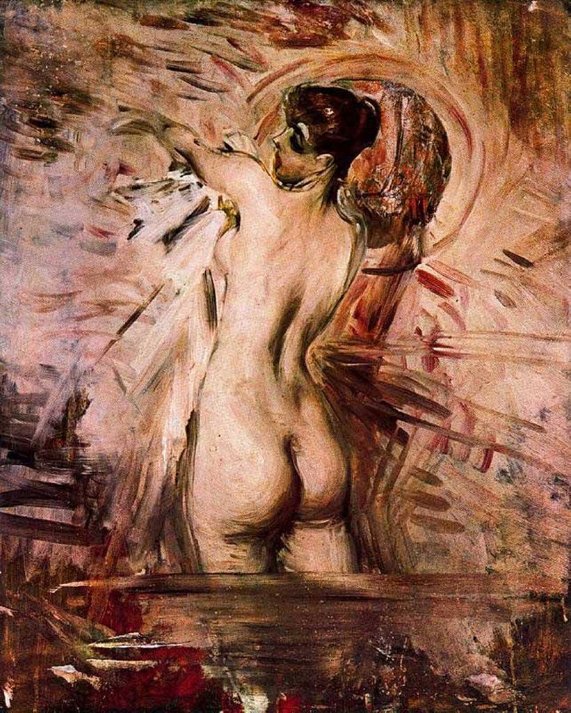 "Джованни Больдини (Giovanni Boldini), ""Алла Тоэлетта в ванне"""
