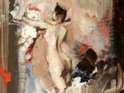 "Джованни Больдини (Giovanni Boldini), ""Монтекатини, модель художника"""