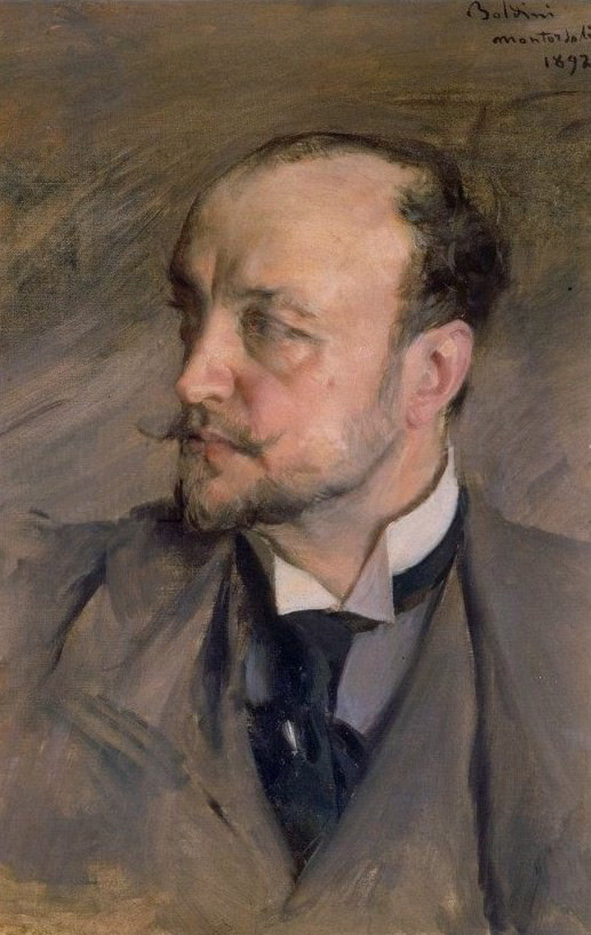"Джованни Больдини (Giovanni Boldini), ""Автопортрет"""