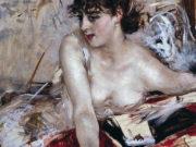 "Джованни Больдини (Giovanni Boldini), ""Morning Letter"""