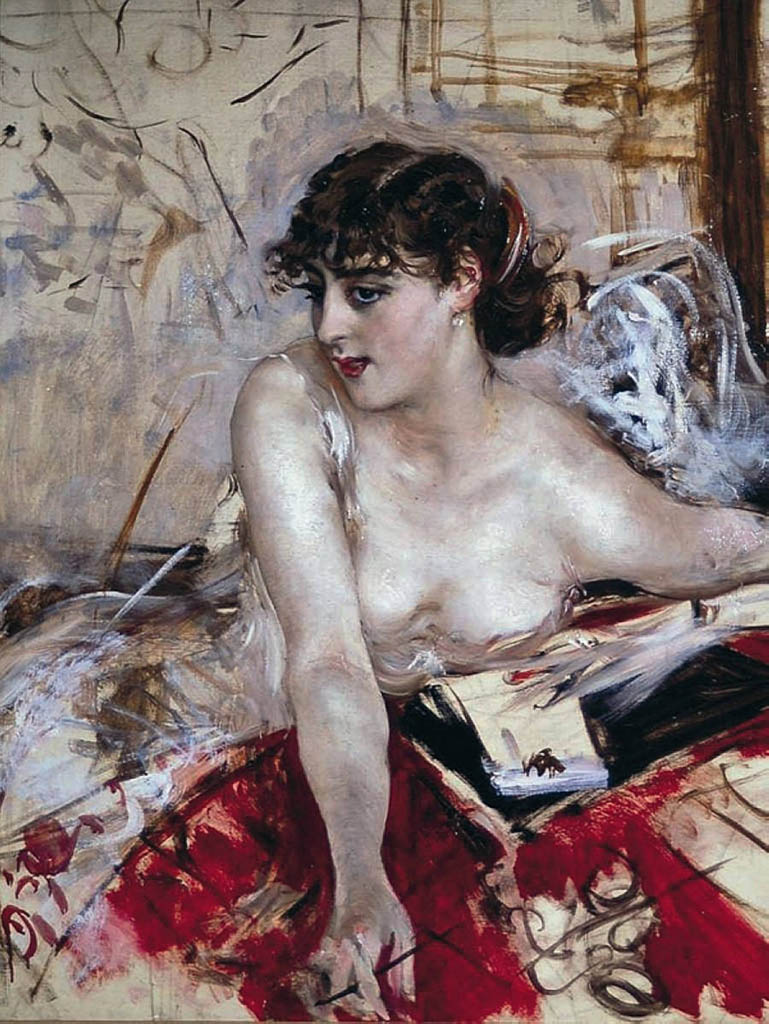 "Джованни Больдини (Giovanni Boldini), ""Morning Letter"""