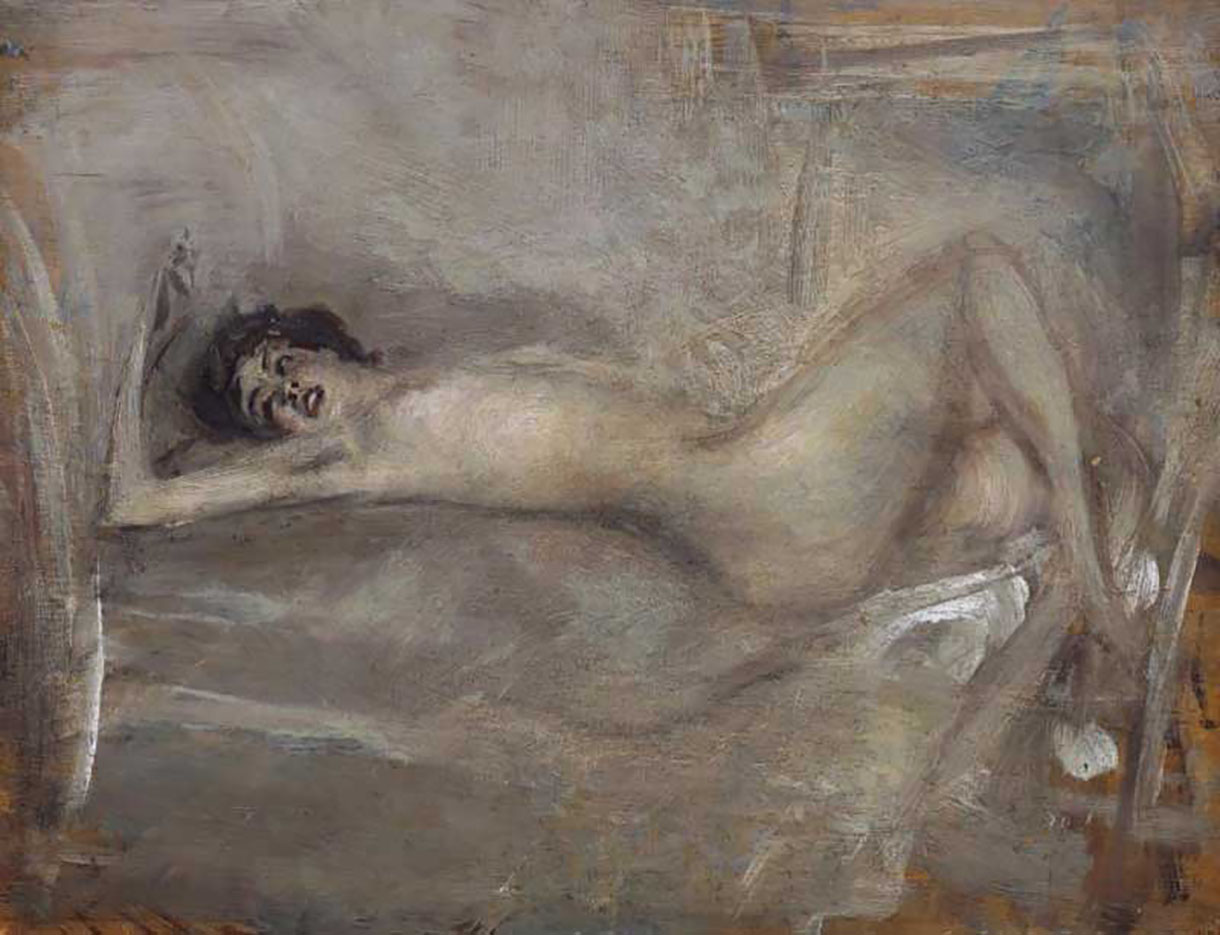 "Джованни Больдини (Giovanni Boldini), ""Symphony in Gray"""