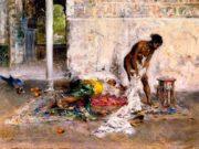 "Джованни Больдини (Giovanni Boldini), ""After the Bath"""