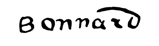 """Пьер Боннар (Pierre Bonnard) """"Signature"""""""