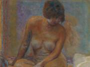 "Пьер Боннар (Pierre Bonnard) ""Seated Nude"""