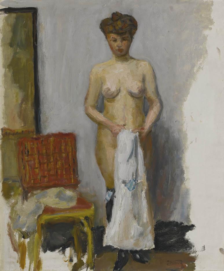 "Пьер Боннар (Pierre Bonnard) ""Nu, chaise rouge"""