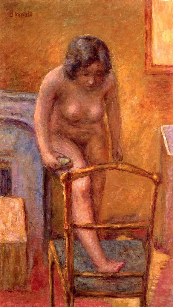 """Пьер Боннар (Pierre Bonnard) """"Nude Woman with a Chair"""""""