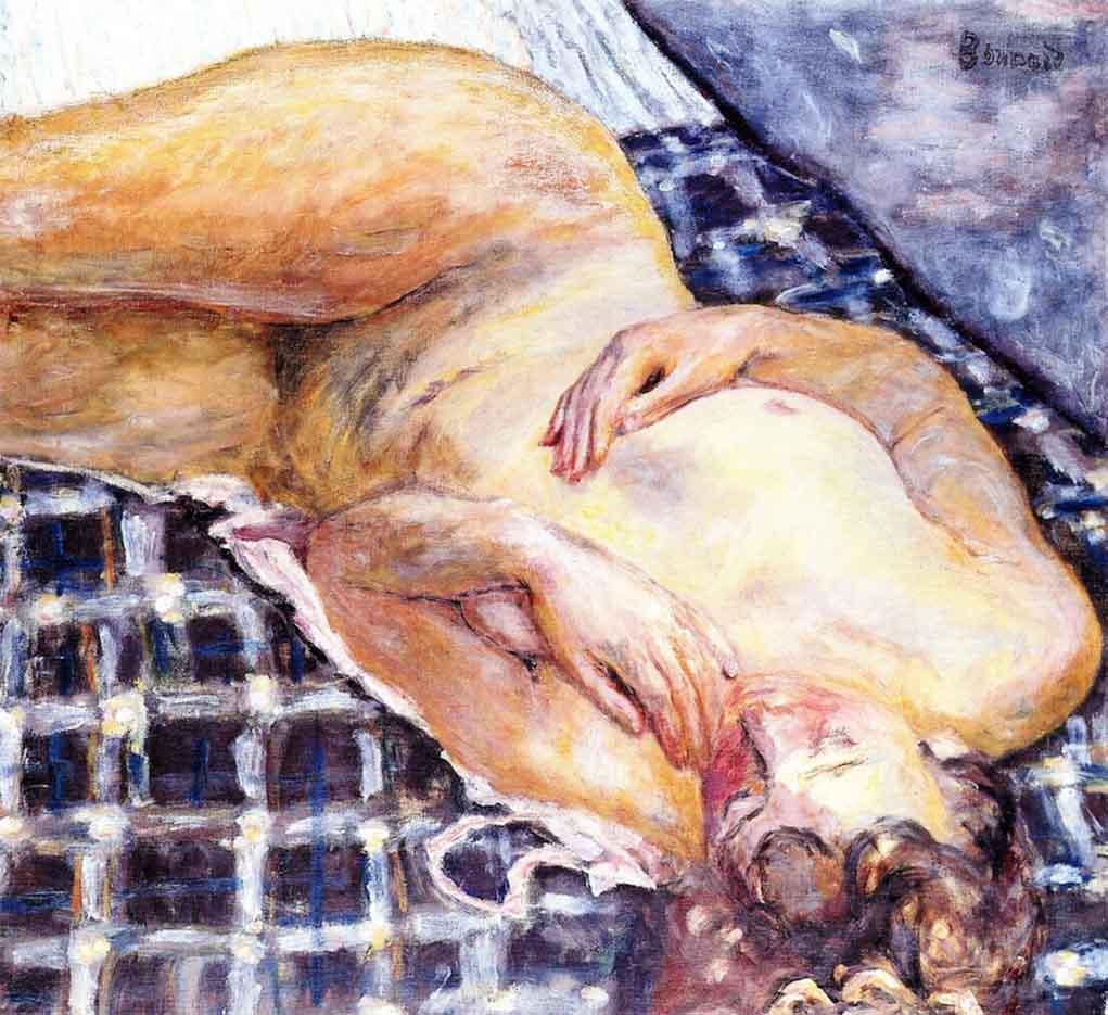 "Пьер Боннар (Pierre Bonnard) ""Reclining Nude - 2"""