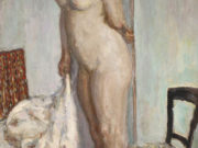"Пьер Боннар (Pierre Bonnard) ""Tall Nude (also known as Woman Nude Standing)"""