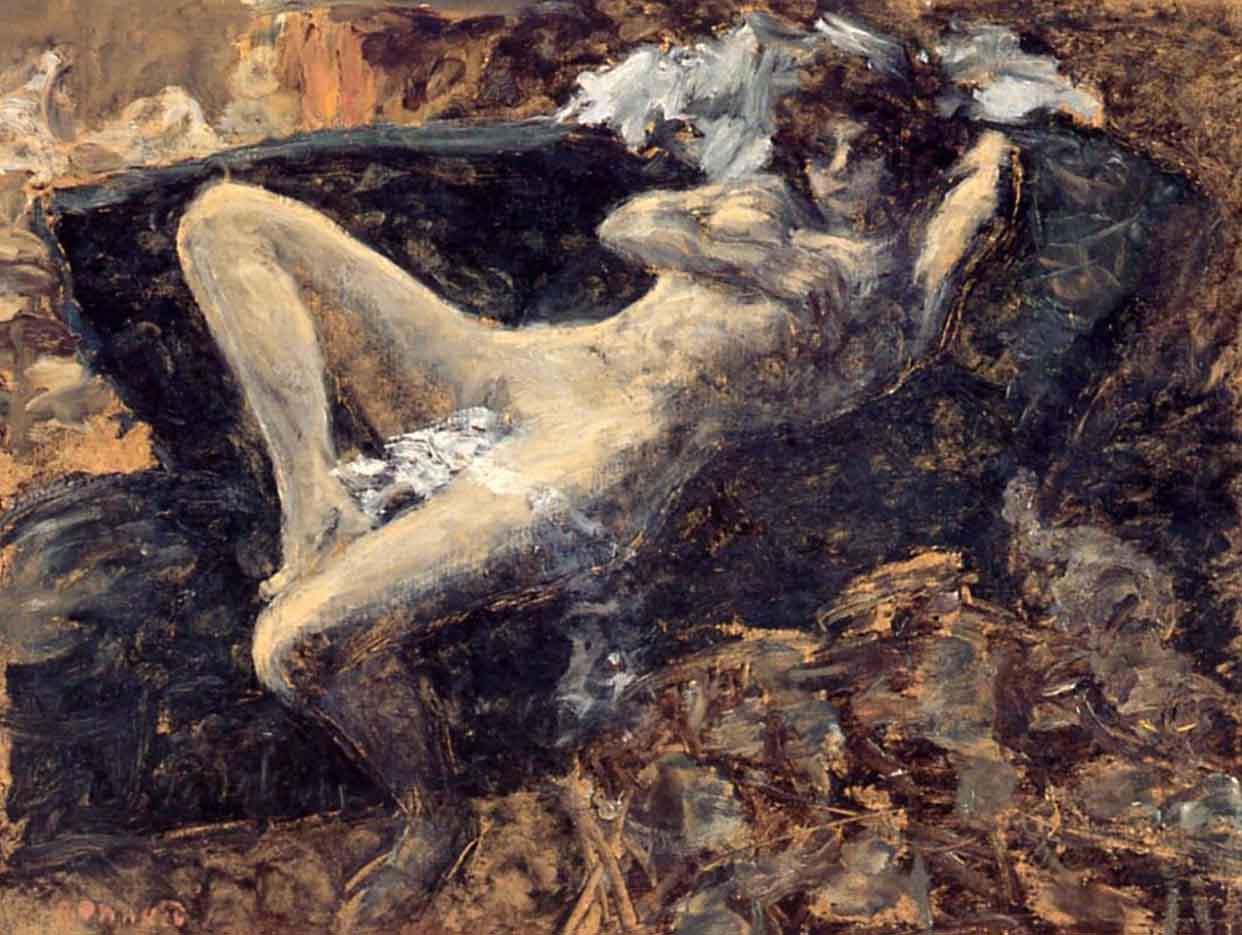 "Пьер Боннар (Pierre Bonnard) ""Blue nude"""