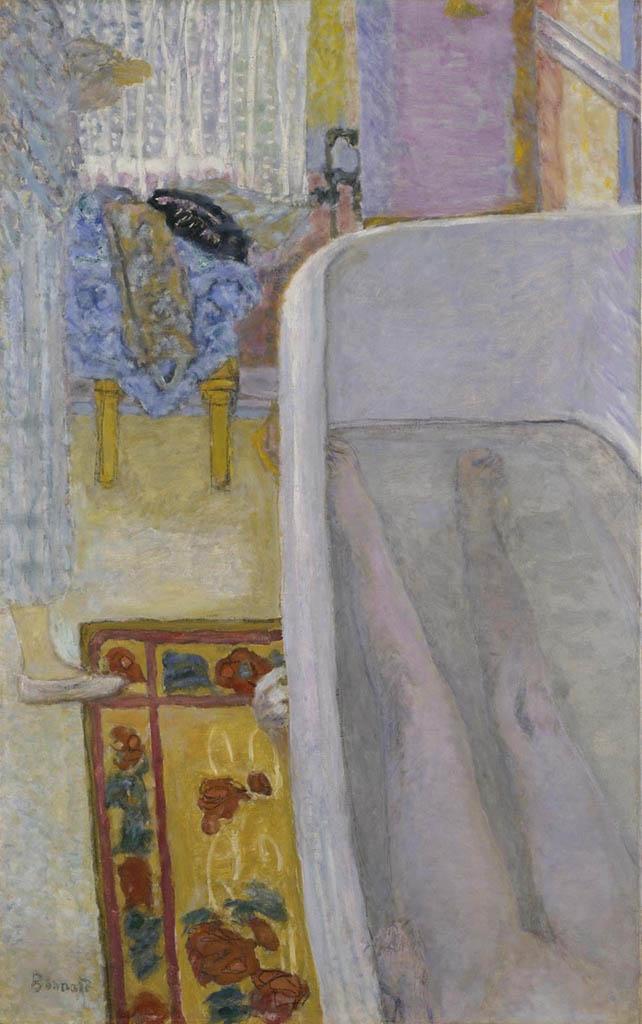 "Пьер Боннар (Pierre Bonnard) ""Nude in the bath"""