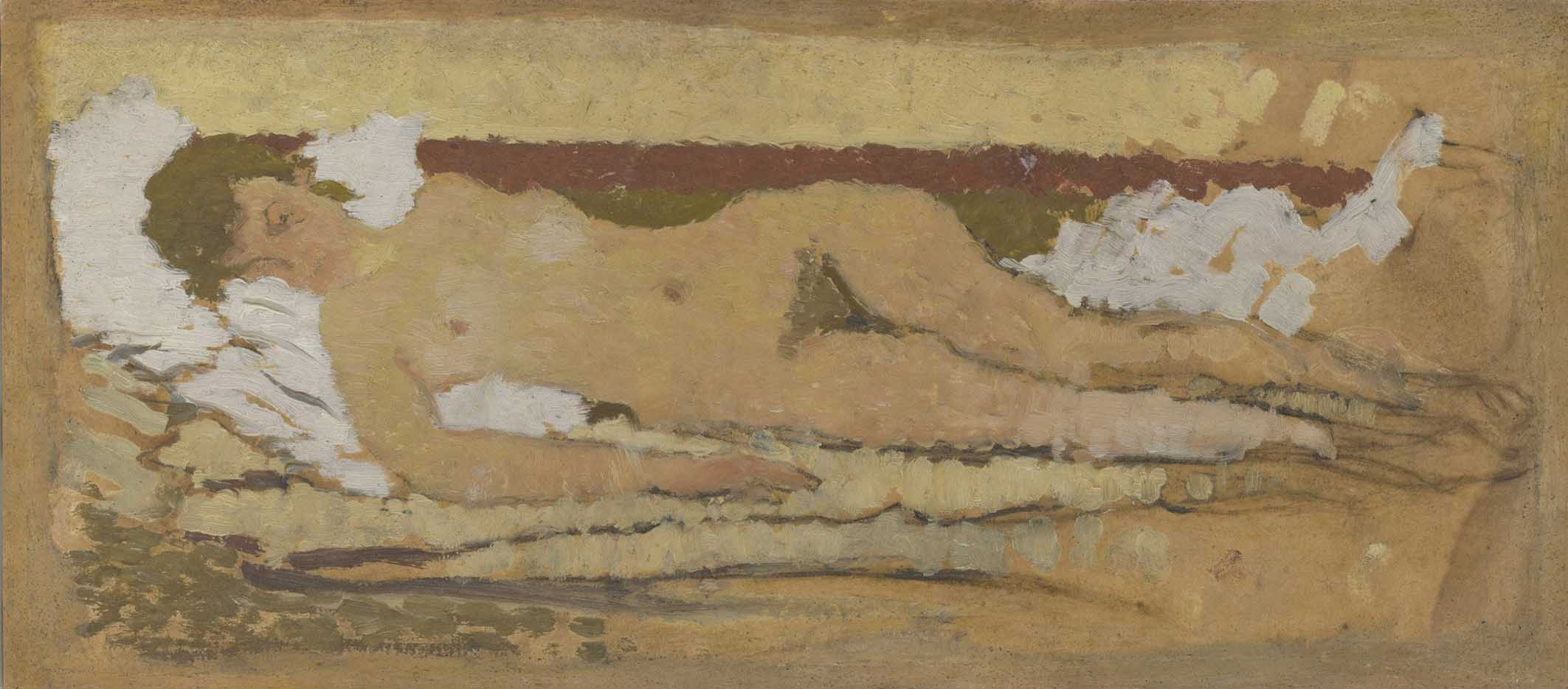 "Пьер Боннар (Pierre Bonnard) ""Reclining Nude"""