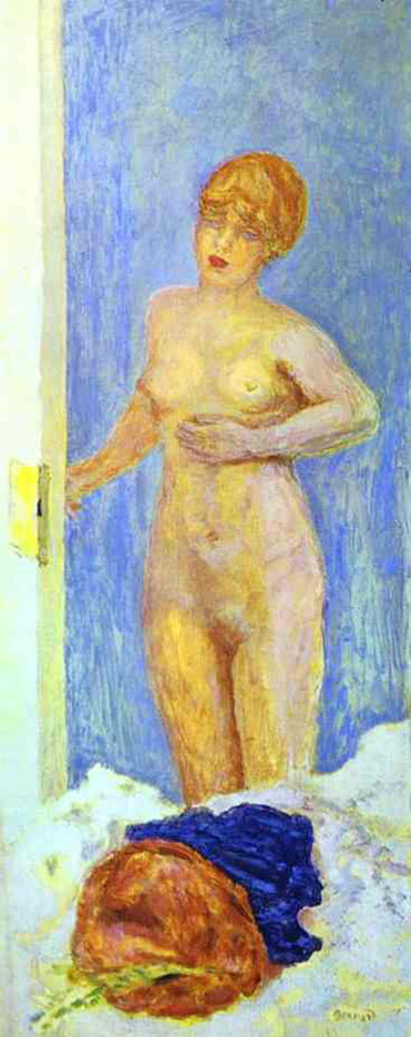 "Пьер Боннар (Pierre Bonnard) ""Nude and Fur Hat"""