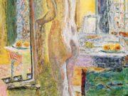 "Пьер Боннар (Pierre Bonnard) ""Nude Before a Mirror"""
