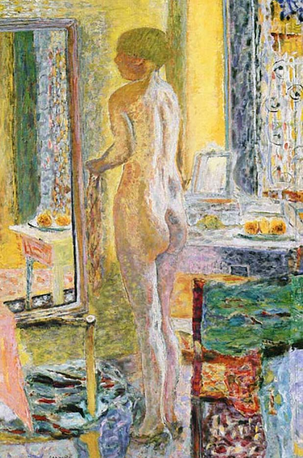 "Пьер Боннар (Pierre Bonnard) ""Nude Before a Mirror"""