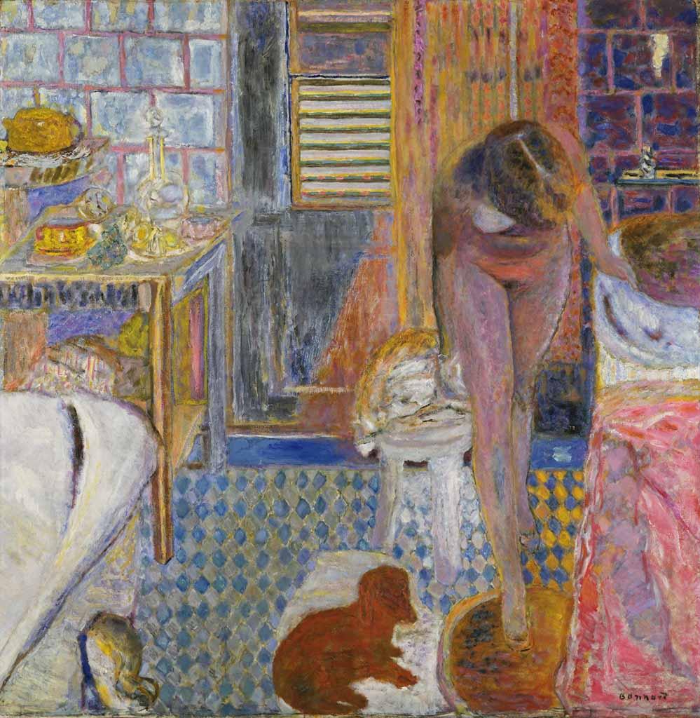 """Пьер Боннар (Pierre Bonnard) """"The Bathroom"""""""
