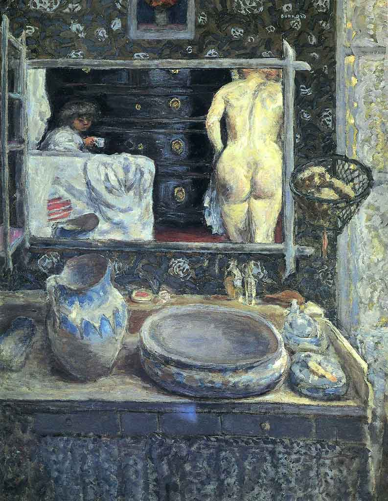 "Пьер Боннар (Pierre Bonnard) ""Mirror on the Wash Stand"""