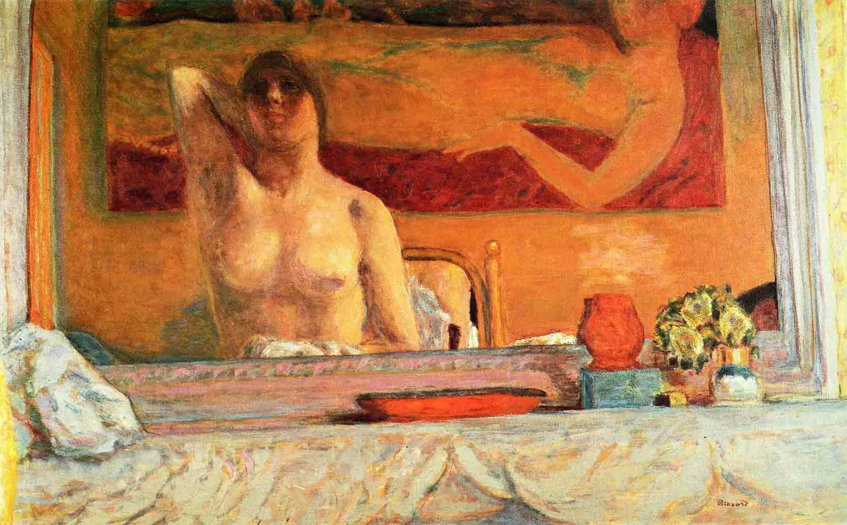 "Пьер Боннар (Pierre Bonnard) ""The Fireplace"""