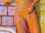 "Пьер Боннар (Pierre Bonnard) ""Naked by the wall"""