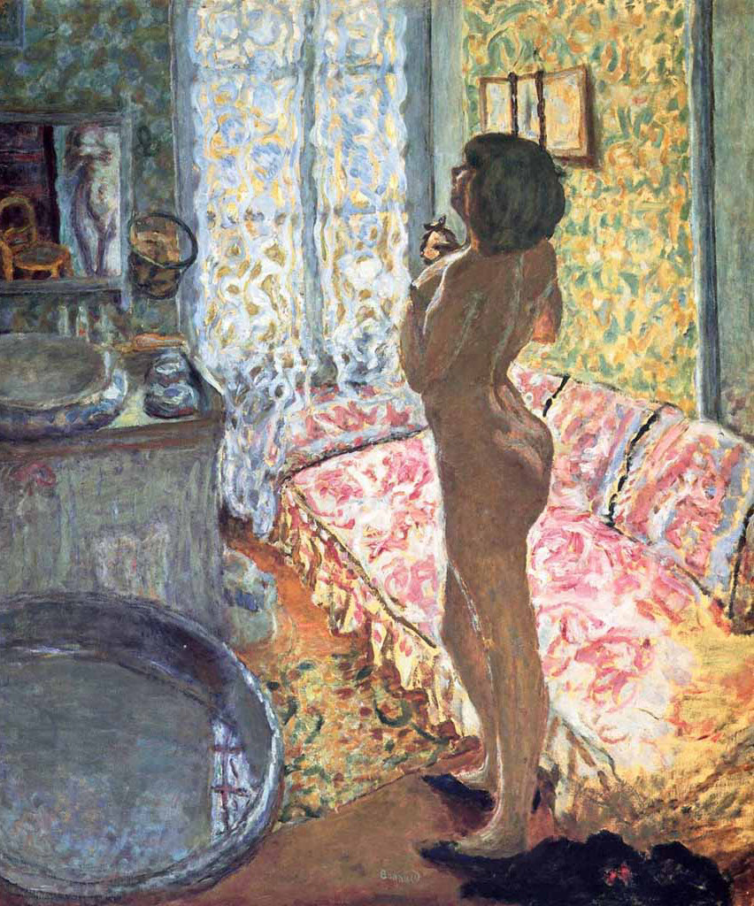"Пьер Боннар (Pierre Bonnard) ""Model in Backligh"""