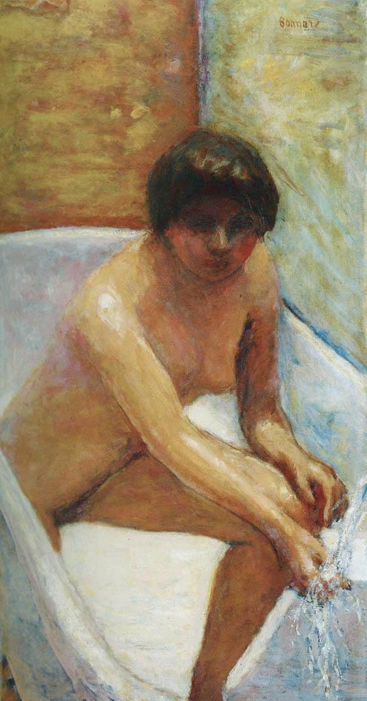 "Пьер Боннар (Pierre Bonnard) ""Nude in the Bathtub - 2"""