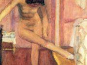"Пьер Боннар (Pierre Bonnard) ""Nude Bending Down"""