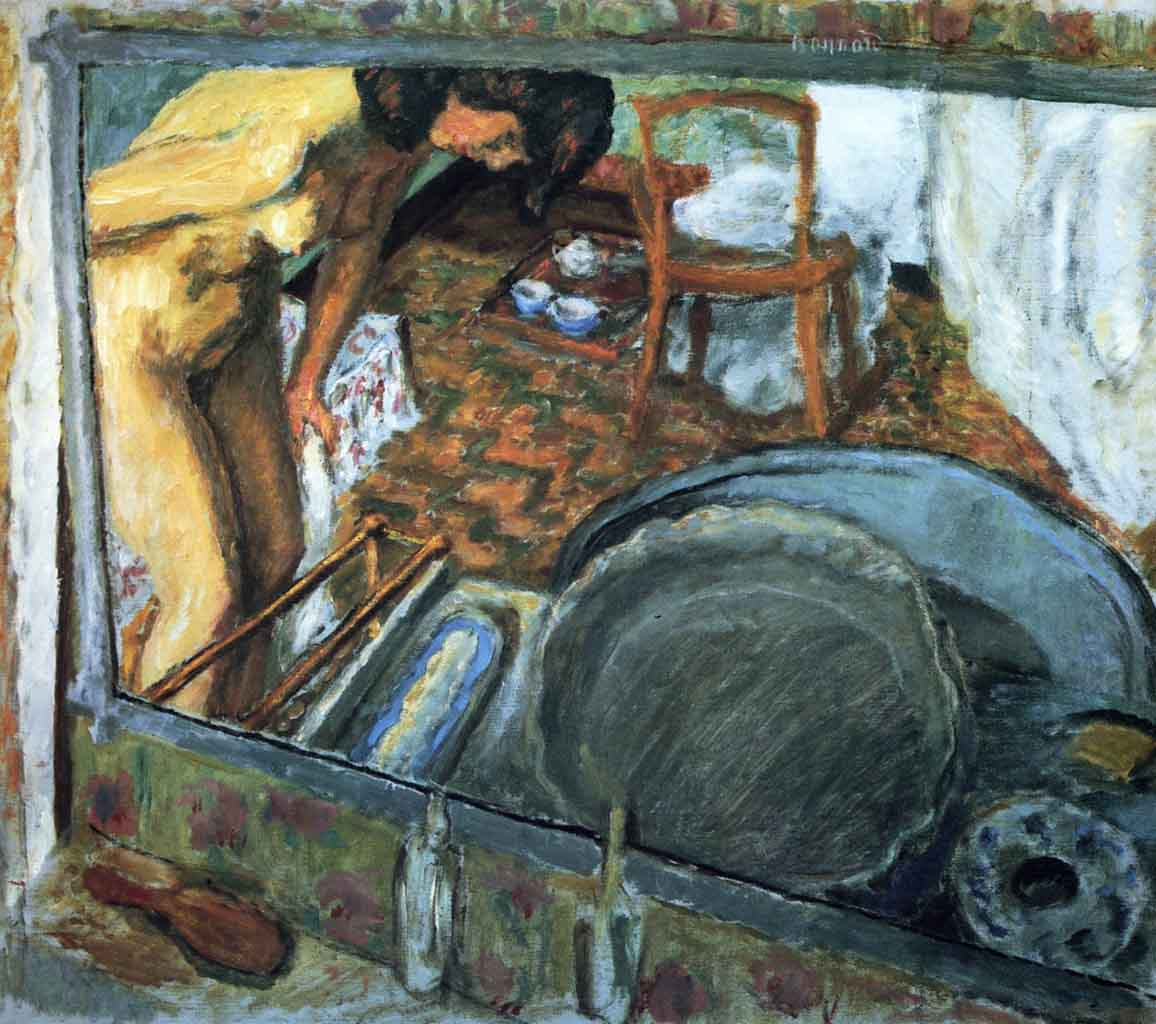 "Пьер Боннар (Pierre Bonnard) ""Tub in a Mirror"""