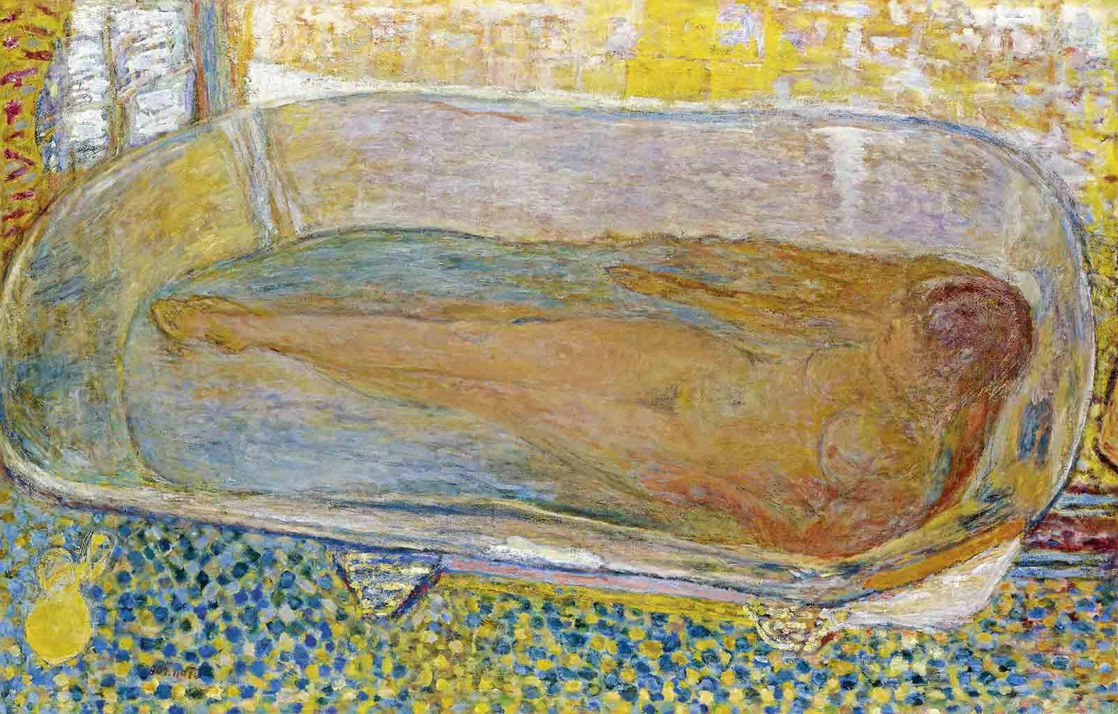 """Пьер Боннар (Pierre Bonnard) """"La Grande Baignoire"""""""