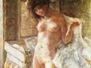 """Пьер Боннар (Pierre Bonnard) """"In the Bathroom (Dans le cabinet de toilette)"""""""
