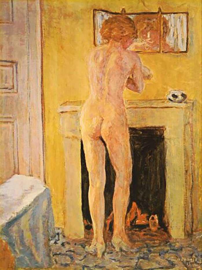 "Пьер Боннар (Pierre Bonnard) ""Nude at the Fireplace"""