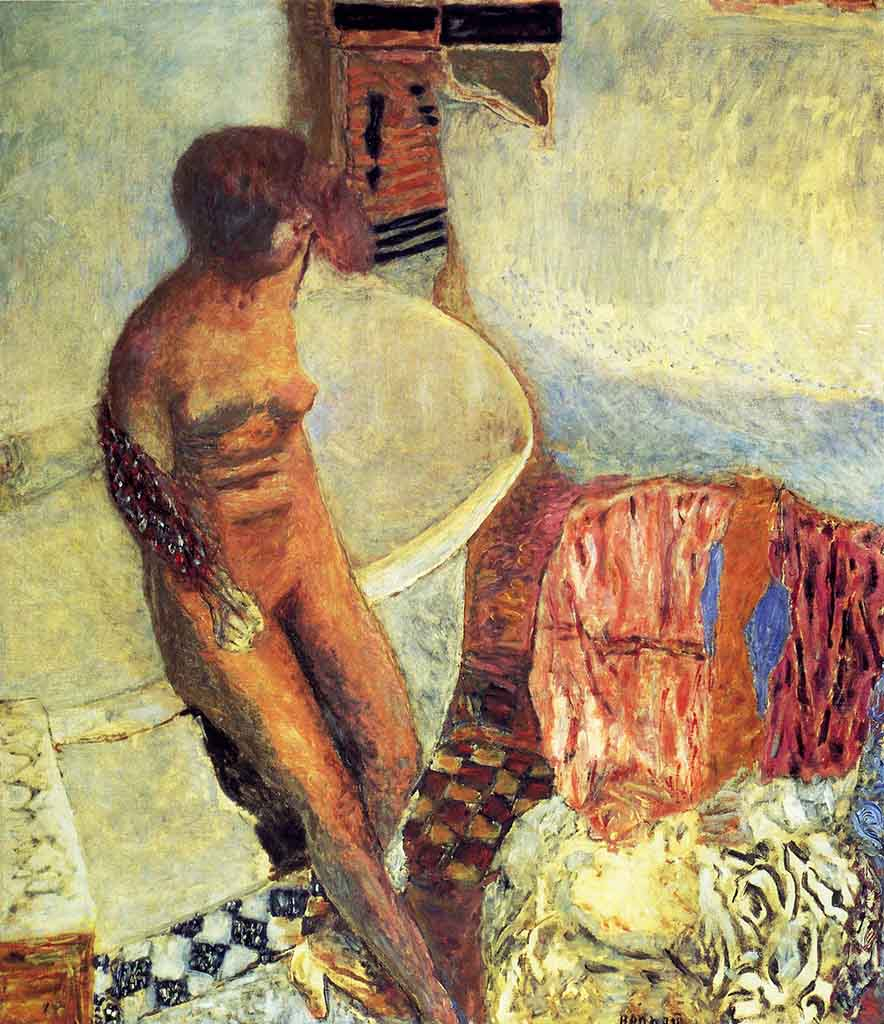 "Пьер Боннар (Pierre Bonnard) ""Nude by the Bath Tub"""