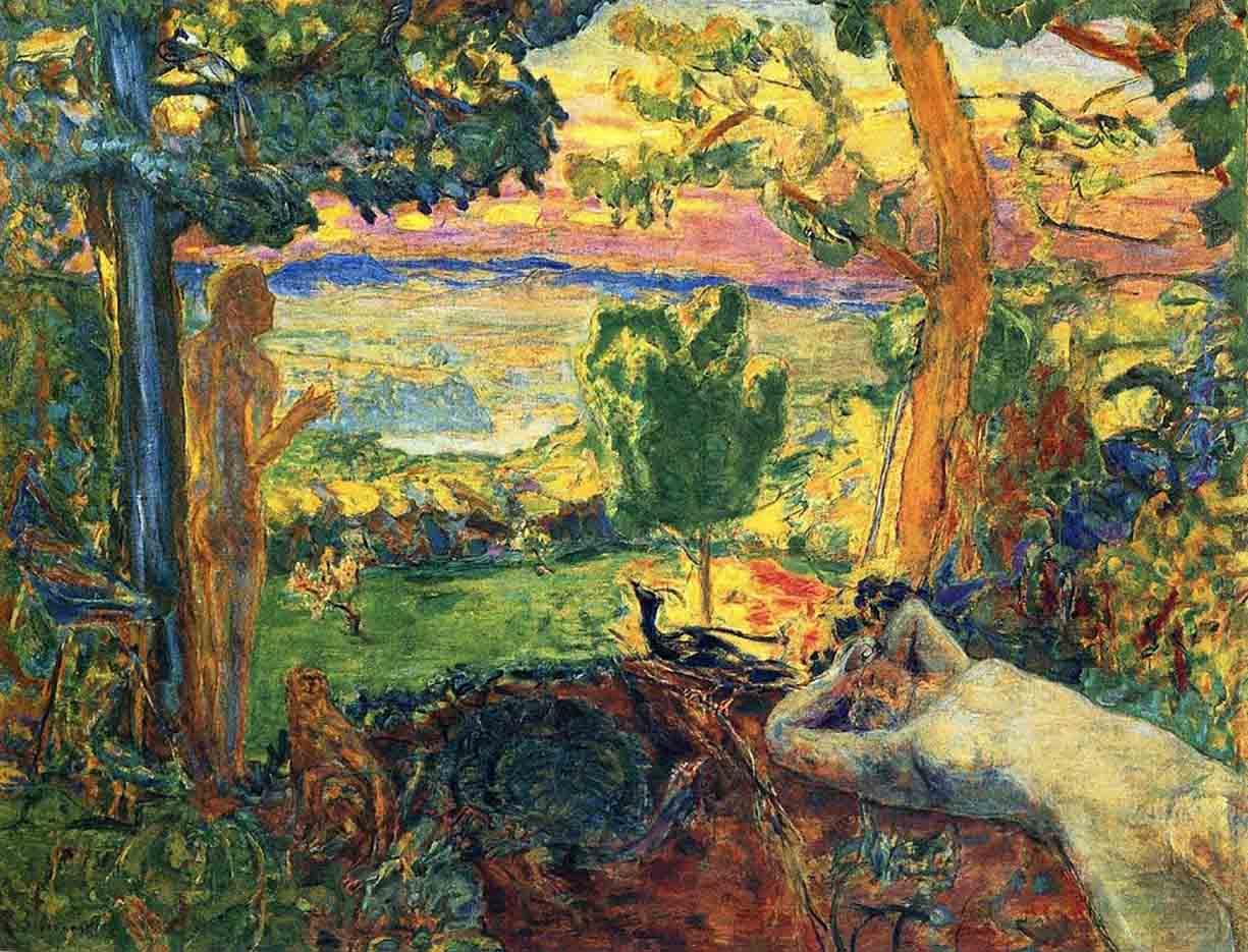 "Пьер Боннар (Pierre Bonnard) ""Earthly Paradise"""