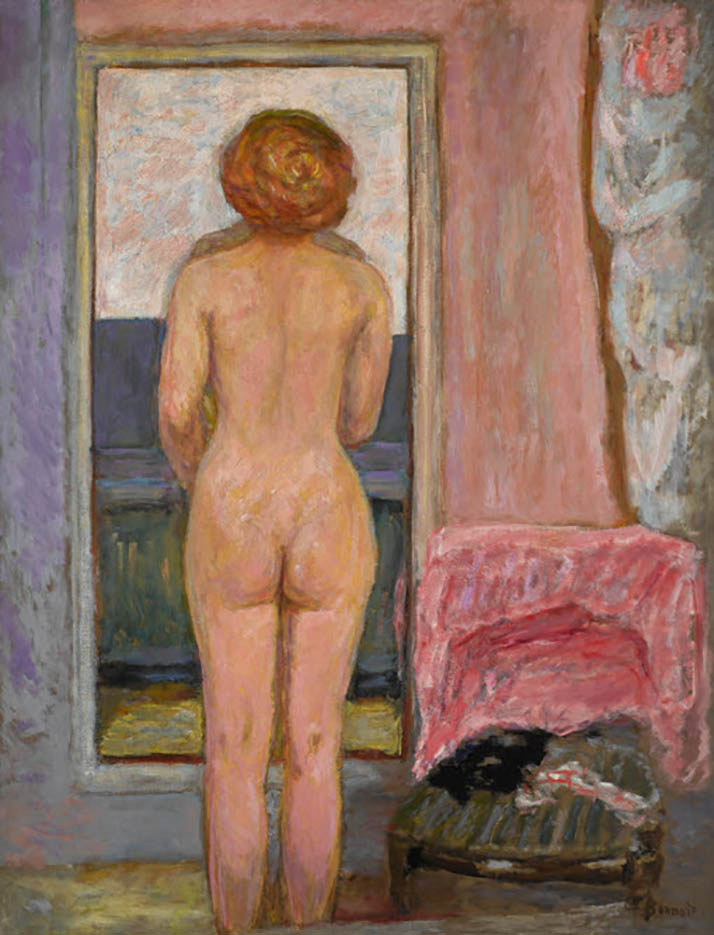 """Пьер Боннар (Pierre Bonnard) """"Femme nue vue de dos"""""""