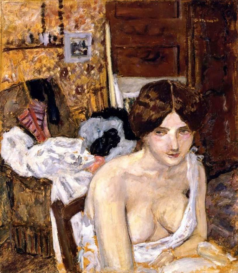 "Пьер Боннар (Pierre Bonnard) ""Rest"""