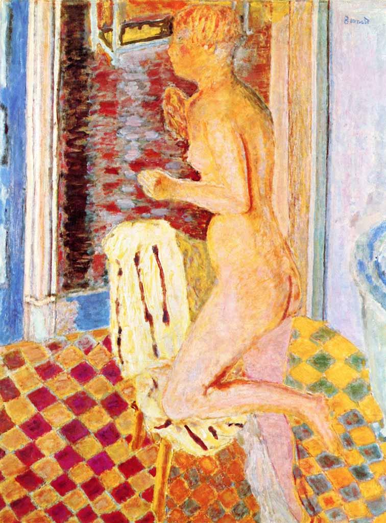 "Пьер Боннар (Pierre Bonnard) "" Nude - 4"""