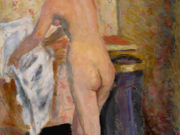 "Пьер Боннар (Pierre Bonnard) ""Nu debout a L'essuie-main Executed"""