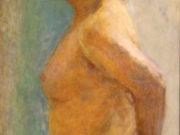 "Пьер Боннар (Pierre Bonnard) ""Torso of a Woman, profile"""