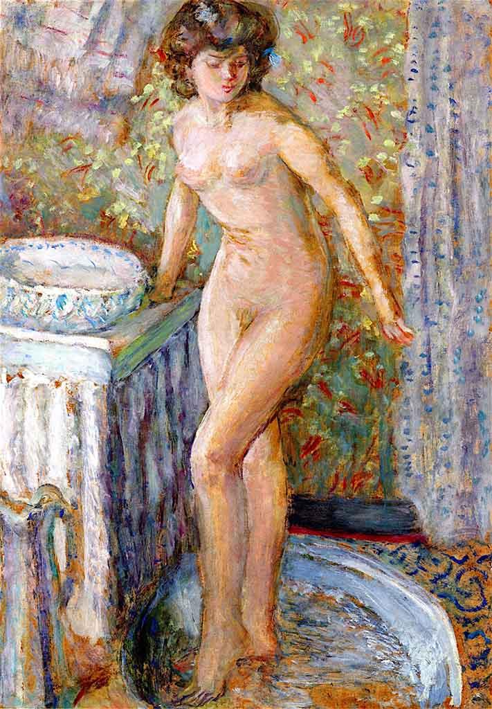 "Пьер Боннар (Pierre Bonnard) ""Nude at Her Toilette"""