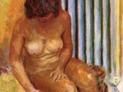 "Пьер Боннар (Pierre Bonnard) ""Nude with Radiator"""