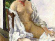 "Пьер Боннар (Pierre Bonnard) ""Nude with Robe"""