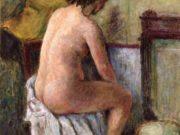 "Пьер Боннар (Pierre Bonnard) ""Nude Woman Seated"""