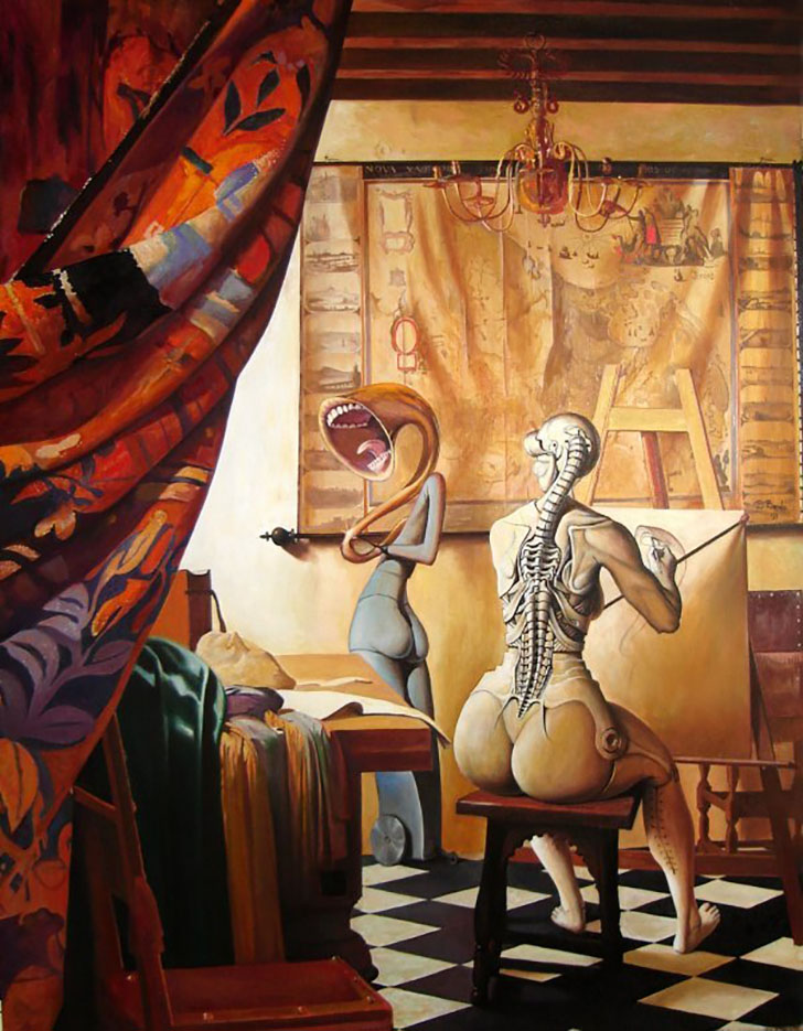 "Адриан Борда (Adrian Borda), ""The Allegory of Painting"""
