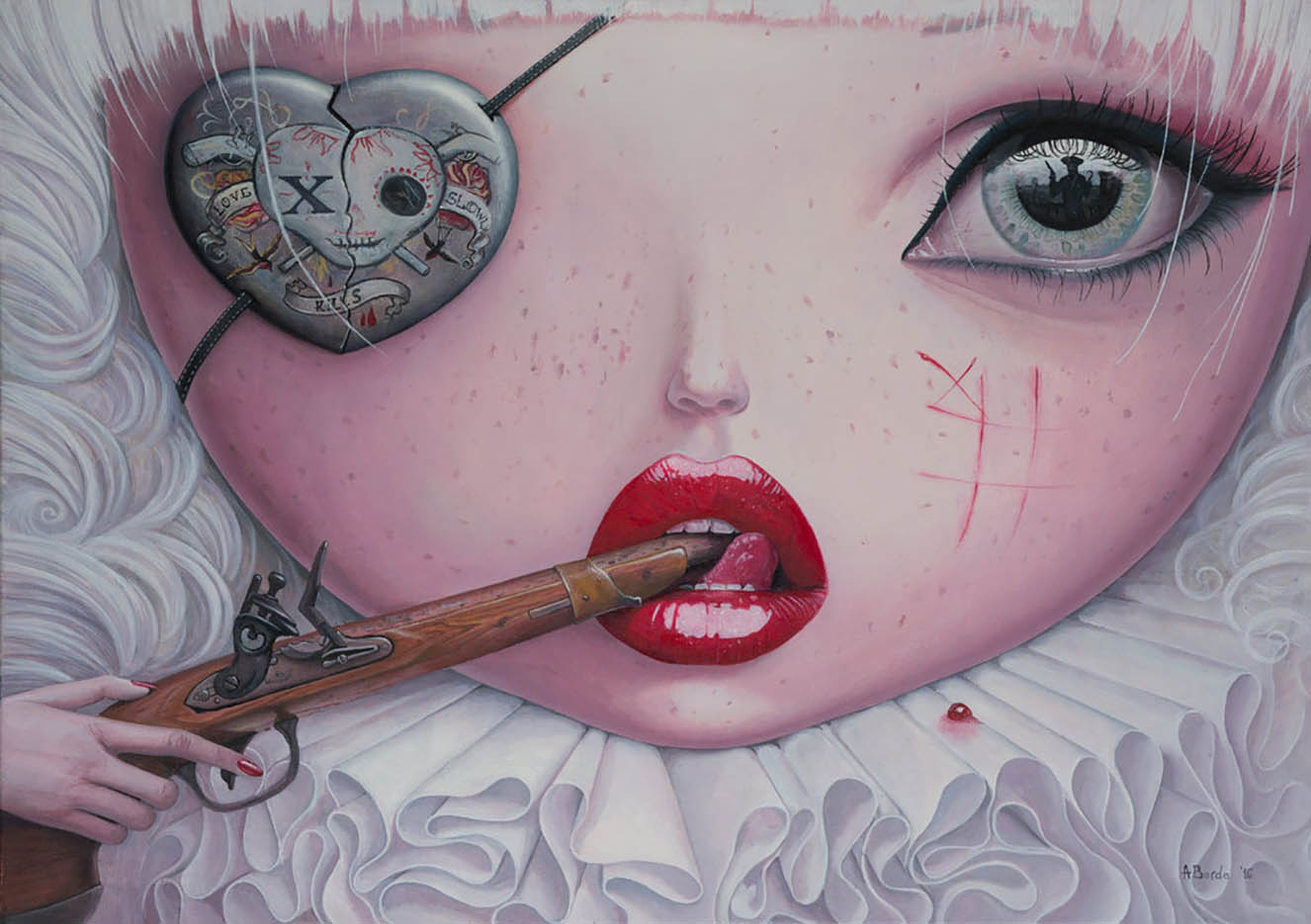 "Адриан Борда (Adrian Borda), ""Love Slowly Kills IV"""
