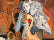 "Адриан Борда (Adrian Borda), ""Artist in love"""