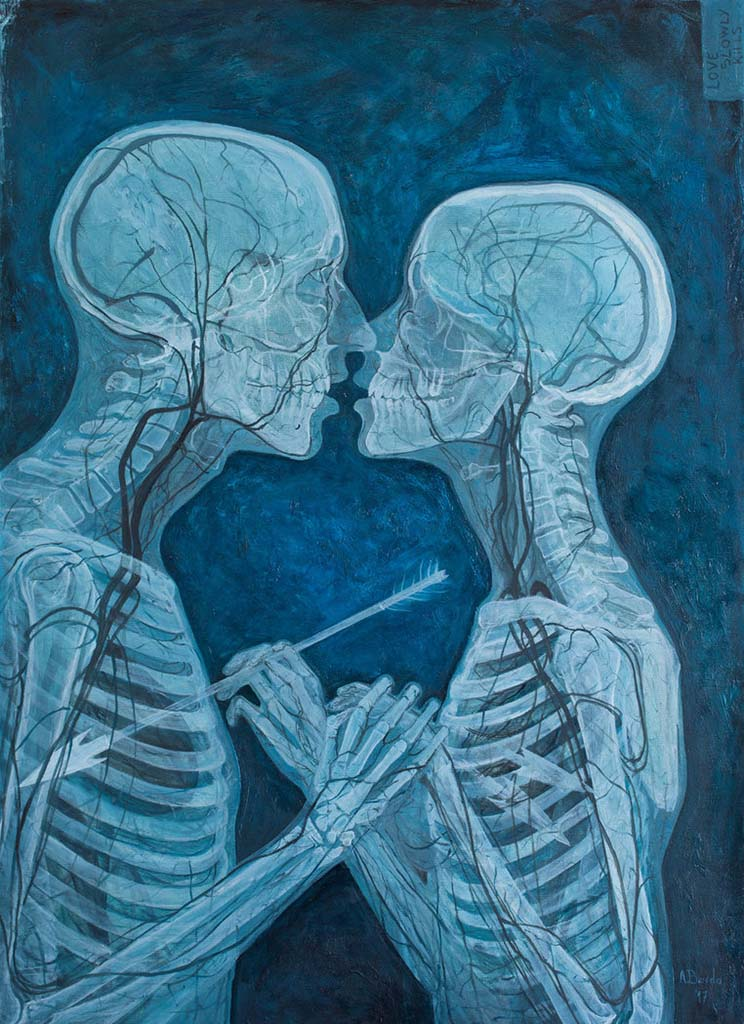 "Адриан Борда (Adrian Borda), ""Love Slowly Kills VI"""