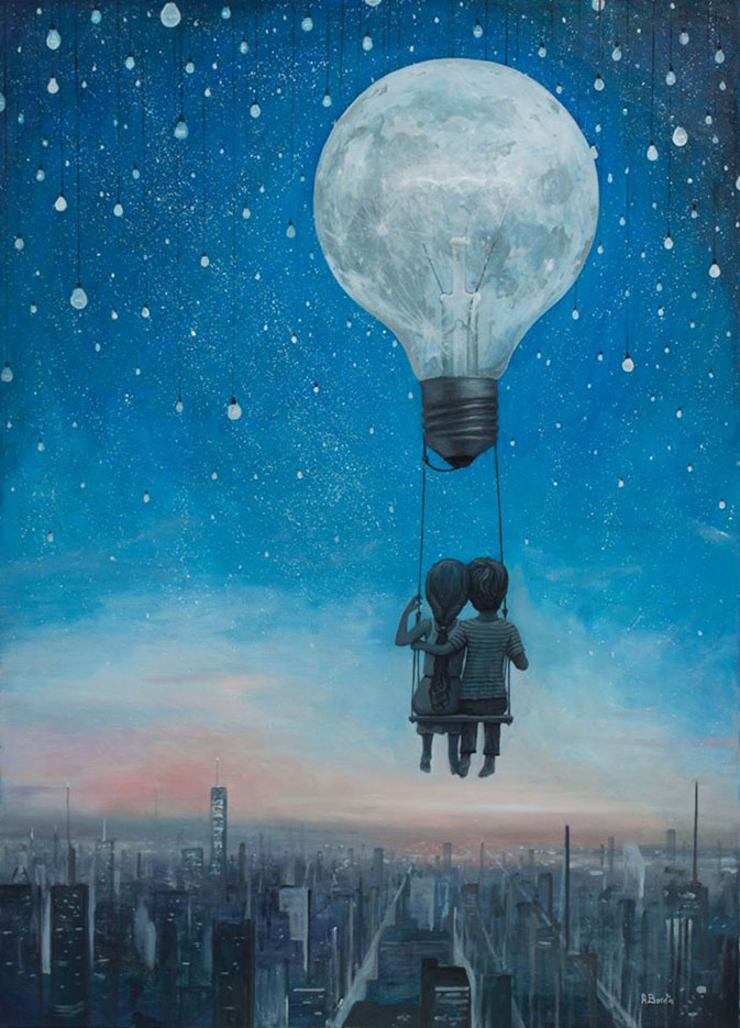 "Адриан Борда (Adrian Borda), ""Our Love will Light the Night"""