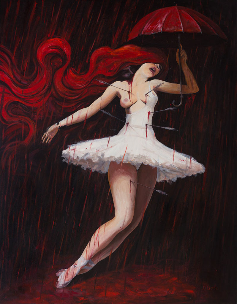 "Адриан Борда (Adrian Borda), ""Love is a dance in a blood bath"""